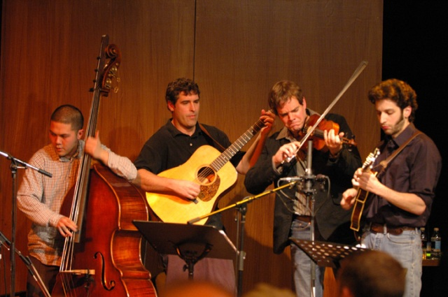 The Creaking Tree String Quartet at a taping for the CBC Radio One show Fuse on Jan. 12, 2007 (photo by Bouche - Flickr Creative Commons)