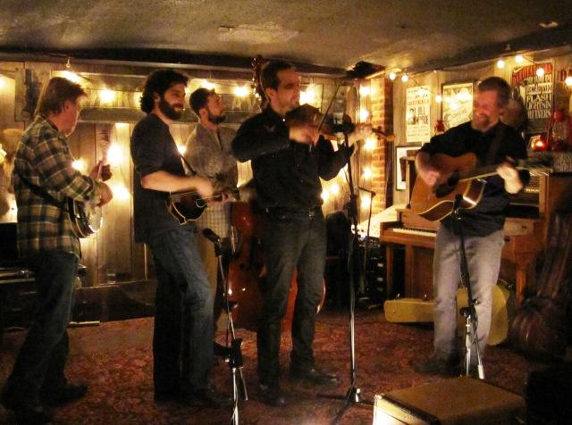 The Foggy Hogtown Boys at the Dakota Tavern on Saturday, Feb. 5, 2011