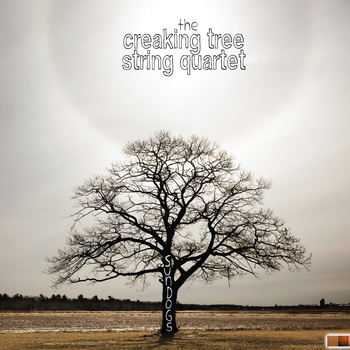 "The cover of ""Sundogs,"" the Creaking Tree String Quartet's most recent CD, which has been nominated for 2011 two awards"