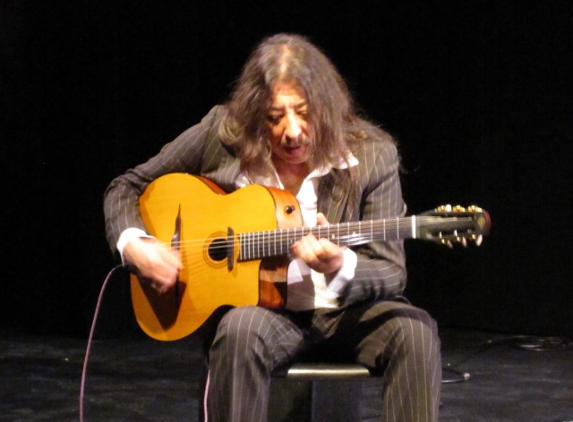 Stojka performing at Arts Court in Ottawa on Feb. 18, 2011