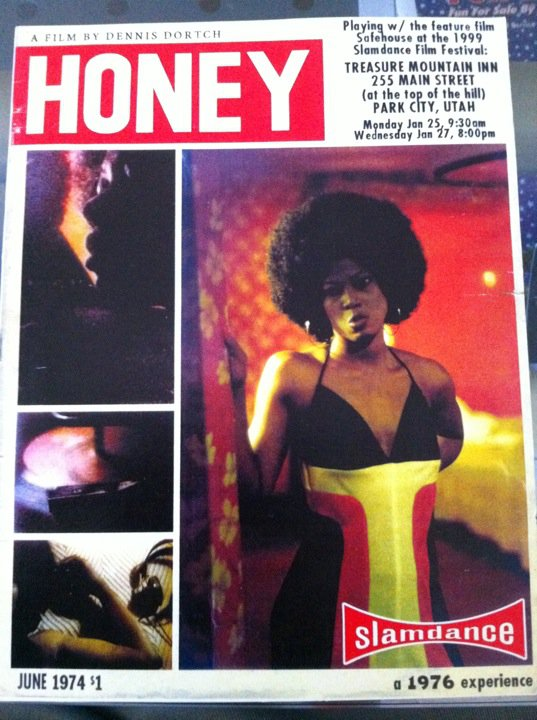"Postcard for Dortch's short film ""Honey,"" which was shot on Super 8"