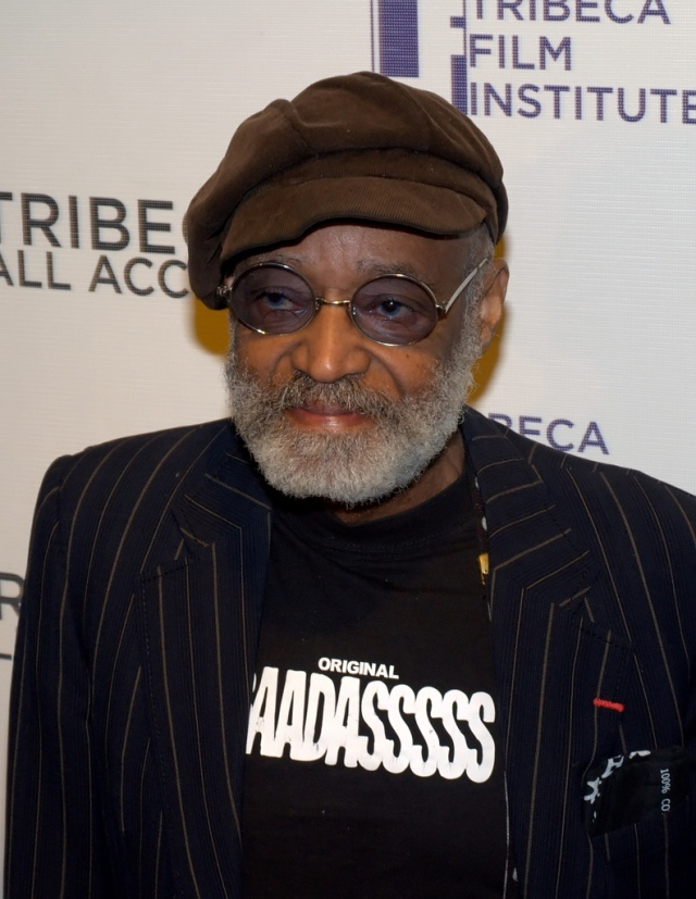 Melvin Van Peebles at the Tribeca Film Institute in 2010 (photo by David Shankbone - Flickr Creative Commons)