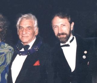 Charles Bernstein composer and conductor Leonard Bernstein, who passed away in 1990