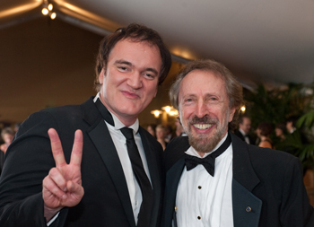 Bernstein with Quentin Tarantino at the 2009 Governors Awards