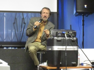 Bernstein speaking at the 2011 West L.A. Music Expo on Nov. 13, 2011