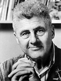 American poet Howard Nemerov (1920-1991). His sister was the noted photographer Diane Arbus (photo from nndb.com)