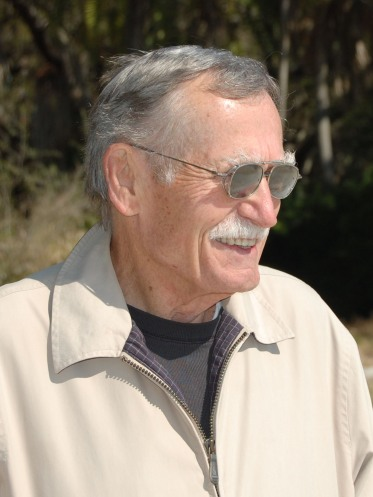 Peter Meinke at Fort De Soto, Florida in 2009