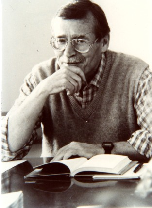Meinke teaching at Eckerd College, Florida in the 1980s