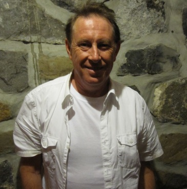 Jack de Keyzer at the Rainbow Bistro in Ottawa shortly before his gig on Aug. 24, 2012