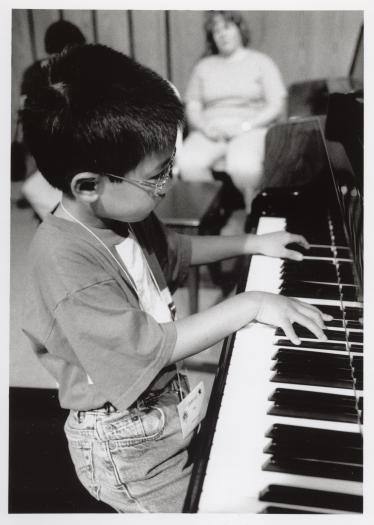 Conrad Tao in 2000, aged 5 or 6