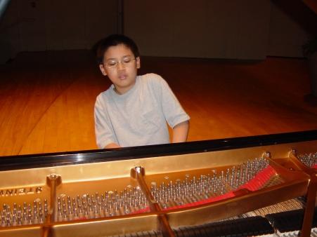 Conrad Tao in 2005
