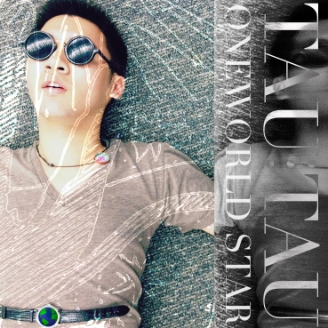 Cover image for Tau Tau's (Conrad Tao's) digital album OneWorldStar featuring his synth-pop compositions