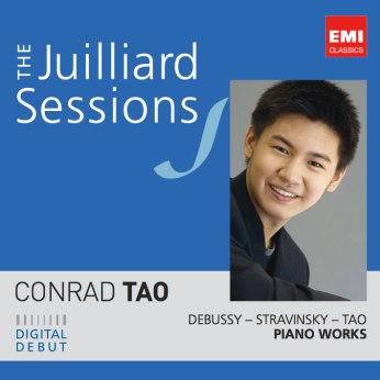The cover image of Tao's first commercially available recording, released in February 2012 and featuring some of his own compositions
