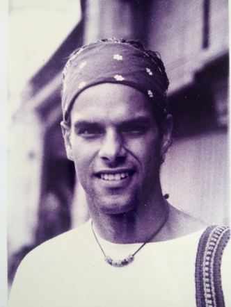 Tremblay during his travels in George Town, Penang State, Malaysia in 1996 (photo courtesy of Jean-Philippe Tremblay)