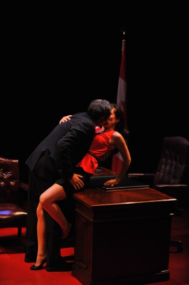 "MIchael Healey and Jenny Young in ""Proud"" (photo courtesy of GCTC/Andrew Alexander)"