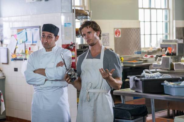 """Bhaneja and Australian actor Ryan Kwanten in the feature """"The Right Kind of Wrong,"""" directed by Jeremiah Chechik"""