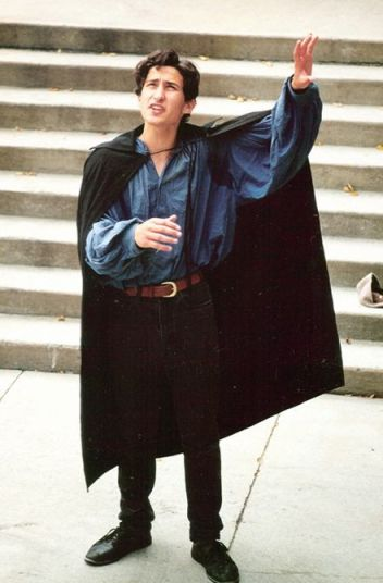 """Bhaneja playing Romeo in a 1990 Company of Fools production of """"Romeo and Juliet""""  in Ottawa"""