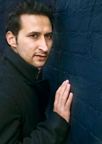 """Publicity still featuring Bhaneja in """"Hamlet (solo)"""" (photo by Andrew Kenneth Martin)"""