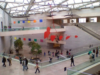 """Calder Mobile at NGA-East"" by C.E. Kent (Flickr Creative Commons, Feb. 17, 2007)"