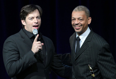 Lucien Barbarin with Harry Connick, Jr. (photo courtesy of Lucien Barbarin)