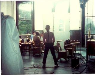 Jason Marsalis, aged 8, in a New York photo shoot in the summer of 1985 (photo courtesy of Jason Marsalis)
