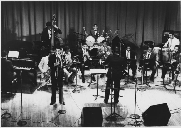 Jason Marsalis in 1986 playing drums in a band in Boston (photo courtesy of Jason Marsalis)