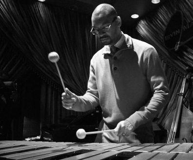 Jason Marsalis on vibes (photo courtesy of Jason Marsalis)