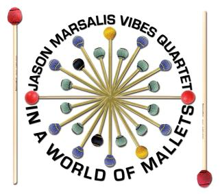 "The cover of Jason Marsalis' 2013 vibraphone CD, ""In a World of Mallets"" (photo courtesy of Jason Marsalis)"