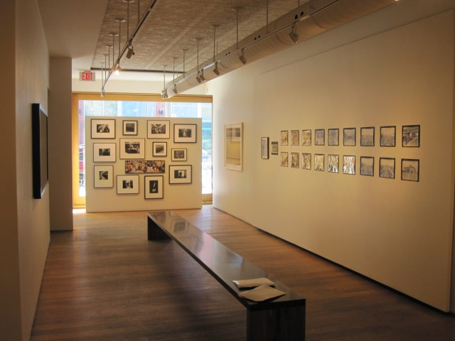"One of two exhibition spaces at the Stephen Bulger Gallery during the show ""Subway"" on February 27, 2015. The gallery also has another exhibition space and a small movie theatre (photo by Anita Malhotra)"