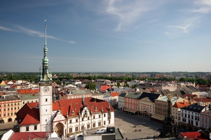 View of Olomouc, Moravia in the Czech Republic (photo by Ana Paula Hirama, Flickr Creative Commons, May 20, 2009)