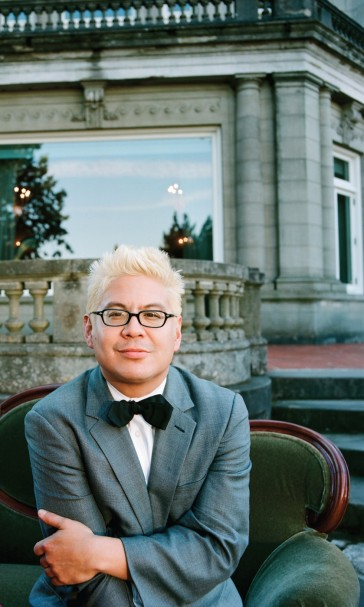 Thomas Lauderdale, pianist and founder of Pink Martini (photo by Autumn de Wilde)