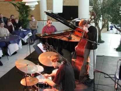 The Kenny Werner Trio in Aarhus, Denmark