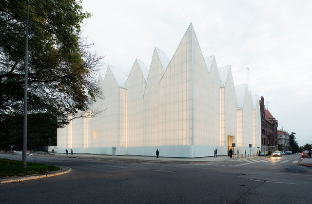 Philharmonic Hall in Szczecin, Poland by Barozzi/Veiga, which won the 2015 Mies van der Rohe Award (photo courtesy of B/V)