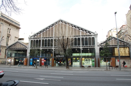 El Mercat de la Concepció, a market in the district of Eixample built in 1888 (photo by Anselm Pallas, Flickr Creative Commons, March 18, 2015)