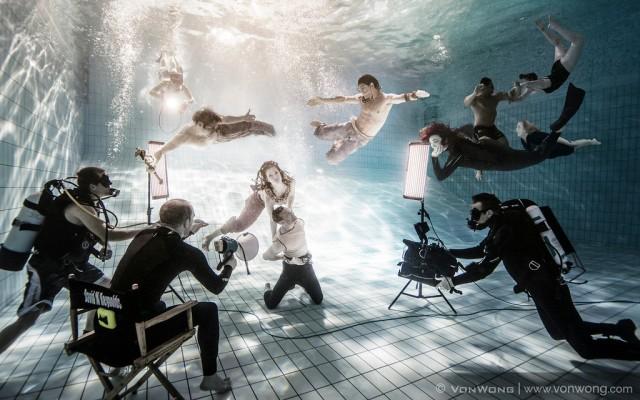 """""""The Underwater Realm"""" by Benjamin Von Wong (photo courtesy of Benjamin Von Wong)"""
