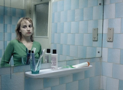 "Anamaria Marinca in ""4 Months, 3 Weeks 2 Days,"" which garnered Cristian Mungiu a Palme d'Or at the 2007 Cannes Film Festival (photo courtesy of Mobra Films)"