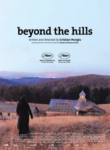 Poster for Mungiu's 2012 film Beyond the Hills (photo courtesy of Mobra Films)
