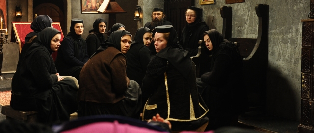 Still from Mungiu's <em>Beyond the Hills</em>, which won two acting awards at the 2012 Cannes Film Festival (photo by Sebastian Enache)