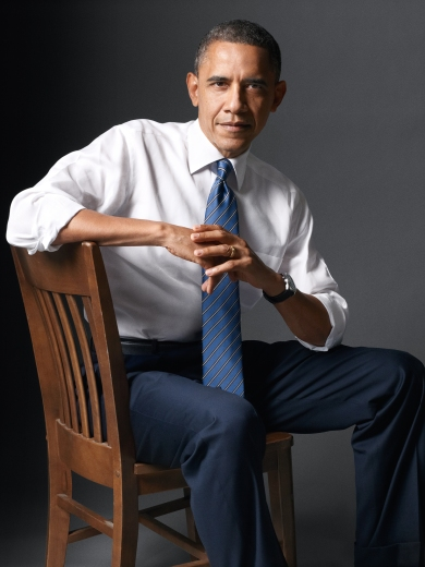 Barack Obama photographed by Seliger for Rolling Stone magazine in 2012 just before beginning his second term as president of the USA (photo ©Mark Seliger)