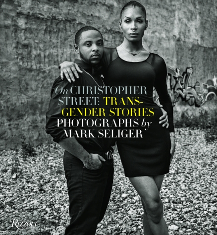 "D'Jamel Young and Leiomy Maldonado featured on the cover of Mark Seliger's most recent book, ""Christopher Street: Transgender Stories"" (photo ©Mark Seliger)"