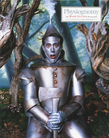 "Comedian, actor and producer Jerry Seinfeld as the Tin Man from the Wizard of Oz featured on the cover of Seliger's 1999 book ""Physiognomy"" (photo ©Mark Seliger)"