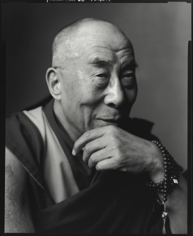 The Dalai Lama photographed by Mark Seliger (photo ©Mark Seliger)