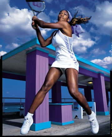 Tennis star Serena Williams photographed by Seliger (photo ©Mark Seliger)