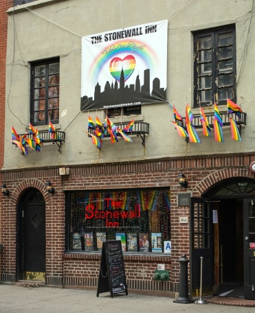 The Stonewall Inn on Christopher Street was the site of 1969 riots that kicked off the modern USA gay rights movement (photo by Troy David Johnston, Flickr Creative Commons)