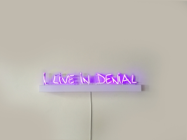 """I Live in Denial"" by Lisa Schulte (photo courtesy of Lisa Schulte)"