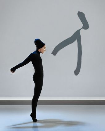 "Carol Prieur in Marie Chouinard's ""Henri Michaux: Mouvements"" (photo by Marie Chouinard)"