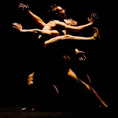 "James Viveiros and Carol Prieur in Chouinard's ""Le Sacre du printemps"" (photo by Nicolas Ruel)"