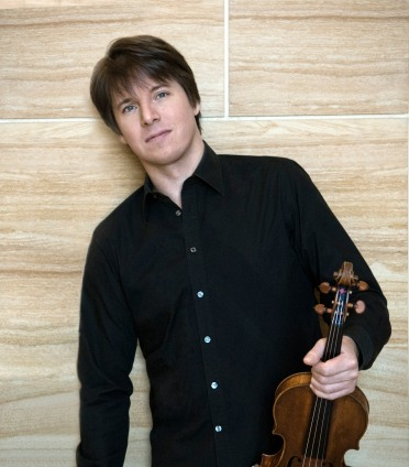 Virtuoso violinist and conductor Joshua Bell (photo courtesy of the National Arts Centre)