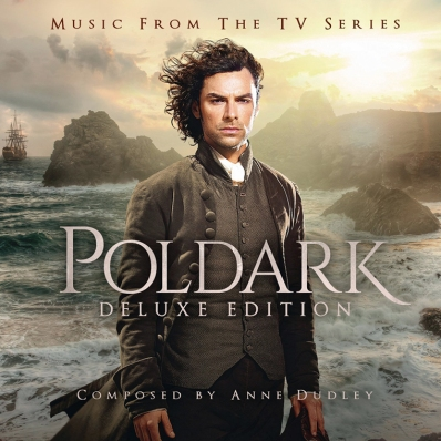 An album of Anne Dudley's music from the BBC TV series Poldark (photo courtesy of Anne Dudley)