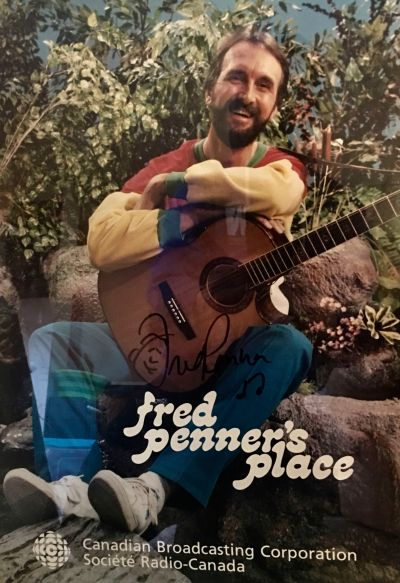 "A poster for the CBC children's show ""Fred Penner's Place"" (photo courtesy of Fred Penner)"